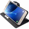 product in gebruik Premium Wallet Case J7 (2016) Zwart