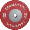 Crossmaxx Competition Bumper Plate 25 kg Red