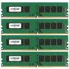 Standard 32 GB DIMM DDR4-2400 4 x 8 GB - 3