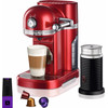 KitchenAid Nespresso and Aeroccino 5KES0504 Apple Red