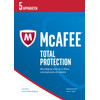McAfee Total Protection 2017 1 jaar abonnement/ 5 apparaten