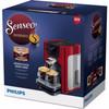 verpakking Senseo Quadrante HD7865/80 Rood