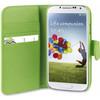 product in gebruik Xqisit Wallet Case Samsung Galaxy S4