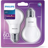 LED-lamp 8.5W E27 Dimbaar (4x)