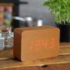 product in gebruik Brick Click Clock Koper