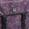 detail Willex Paisley Dubbele Tas Paars