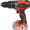 rechterkant Dual Power POWDP1520 + Acculader + Accu