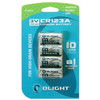 Olight CR123A 4-pack Batterij
