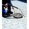 product in gebruik Riool-/buisreinigingsset 15 meter