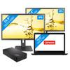 2 schermen - Lenovo ThinkPad E570 - i3-8