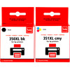 Pixeljet 350/351XL Multi-Pack for HP printers