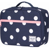 Herschel Pop Quiz Lunchbox Peacoat Polka Dot/Strawberry Ice