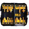 DeWalt 12-delige Frezenset DT90016-QZ