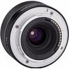 achterkant 35mm F2.8 AF Sony FE