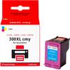 verpakking 300 Cartridge 3-Kleuren XL (CC644E)
