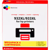 Pixeljet 932/933 Cartridge 4-Color XL for HP printers (C2P42AE)