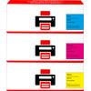Huismerk 305A Toner 3-Kleuren voor HP printers (CF370AM)