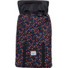 voorkant Retreat Mid-Volume Black Mini Floral