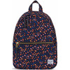 Herschel Town X-Small Black Mini Floral