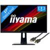 iiyama ProLite B2783QSU-B1 + HDMI kabel