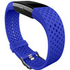 linkerkant Kunststof Horlogeband Blauw Small
