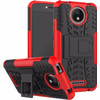 Just in Case Rugged Hybrid Motorola Moto C Plus Back Cover Rood