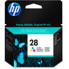 HP 28 Tri-color Ink Cartridge 3 Colors (C8728AE)