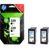 verpakking HP 339 Double Pack Zwart (C9504EE)