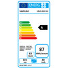 energielabel UE40LS001A Serif Wit