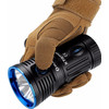 product in gebruik X7R Marauder rechargeable
