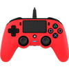 bovenkant PS4 Official Wired Controller Rood