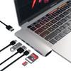 product in gebruik TYPE-C PRO Hub 4K HDMI Zilver