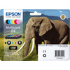 Epson 24 Ink Cartridge 6 Color Multipack C13T24284011