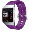 voorkant Fitbit Ionic Siliconen Horlogeband Paars
