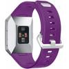 achterkant Fitbit Ionic Siliconen Horlogeband Paars