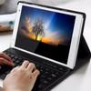 voorkant Lenovo Tab 4 8 Plus Keyboard Cover Zwart