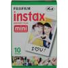 Fuji Instax Color Film Mini Glossy (10 units)