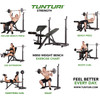 product in gebruik WB50 Mid Width Weight Bench