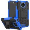 Just in Case Rugged Hybrid Motorola Moto C Plus Back Cover Blauw