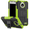 Just in Case Rugged Hybrid Motorola Moto E4 Back Cover Groen