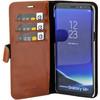 Valenta Classic Luxury Samsung Galaxy S8 Plus Book Case Brown