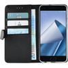 Azuri Wallet Magneet Asus Zenfone 4 Book Case Zwart