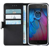 Azuri Wallet Magnetic Motorola Moto G5S Book Case Black