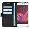 Azuri Wallet Magneet Motorola Moto Z2 Play Book Case Zwart