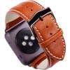 achterkant Apple Watch 38mm Leren Horlogeband