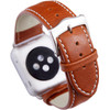 achterkant Apple Watch 42mm Leren Horlogeband