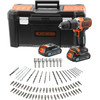 Black & Decker BCD18STD2KA-QW