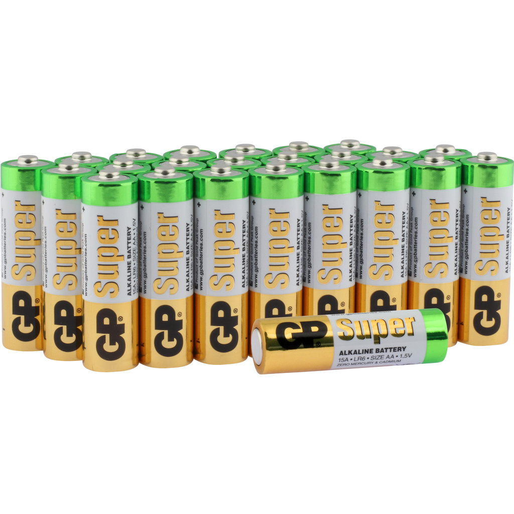 GP Super Alkaline Multipack 24x AA in Weerestein
