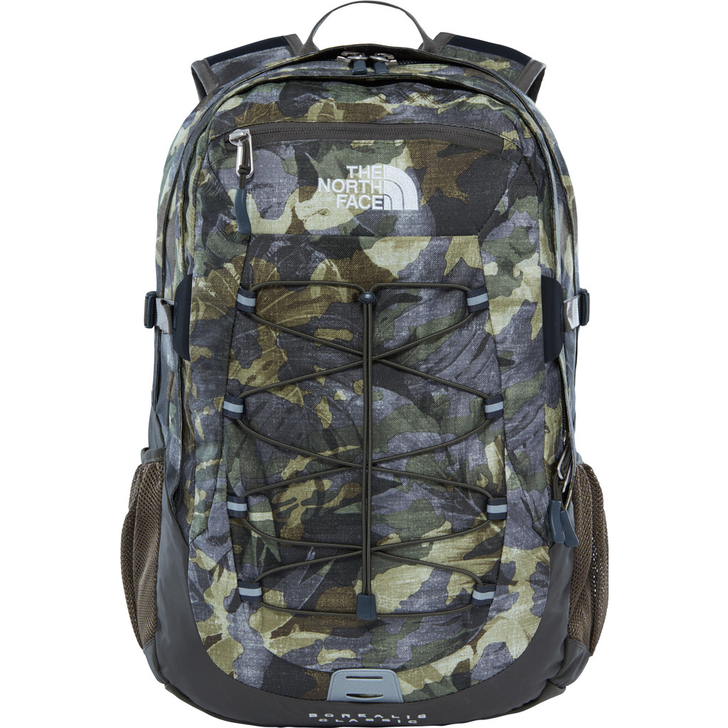 The North Face Borealis Classic Green Tropical Camo/Taupe Gr in Hoogezand