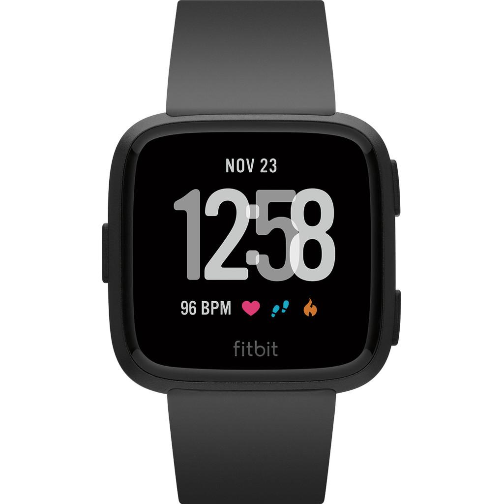 Fitbit Versa Black/Black Aluminum in Sliedrecht